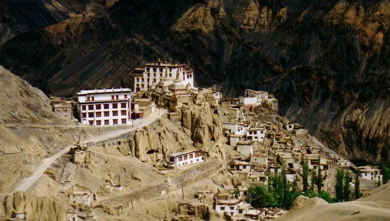 The Lamayuru Monastery